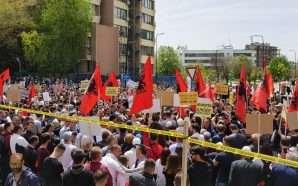 Vetëvendosja, protestë kundër korrupsionit në drejtësi