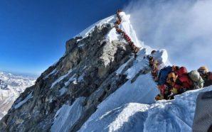 Humbin jetën tre alpinistë