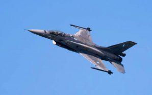 Avion luftarak grek mbi Maqedoninë e Veriut