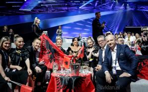 Jonida Maliqi në finalen e Eurovision
