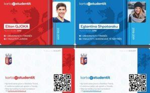 Javën tjetër nis shpërndarja e Kartës së Studentit
