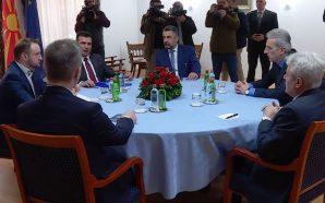 Ndryshimet në qeveri, Zaev takohet me Ahmetin