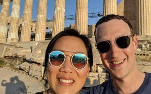 Zuckerberg selfie nga Akropoli me bashkëshorten