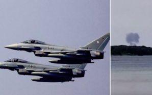 Përplasen në ajër 2 avionë luftarakë