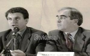 Skënder Gjinushi, Namik Dokle, Arben Malaj hapin fushatën e Kushtetutës…