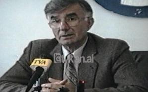 Vili Minarolli konferencë për fushatën referendare (07 Nëntor 1998)