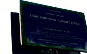 Vendoset pllakatë përkujtimore për dy gazetarët e Radio Tirana