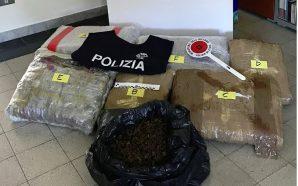 Sulmoi dy makinat e policisë, kapet shqiptari me 30 kg…