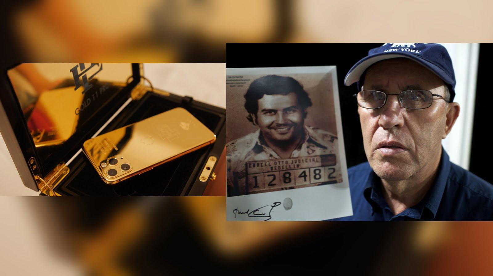 Vëllai i Pablo Escobar shet iPhone 11 Pro vetëm për…