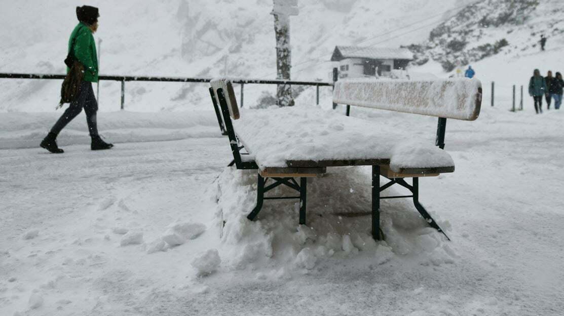 Dëborë e papritur në Itali - Tv Klan