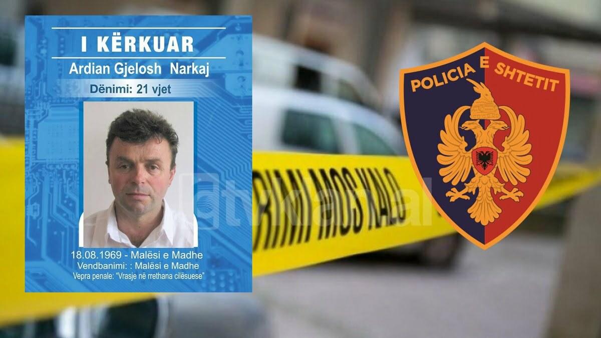 Ishte në kërkim, 52-vjeçari në Shkodër plagoset nga RENEA gjatë operacionit për kapjen e tij