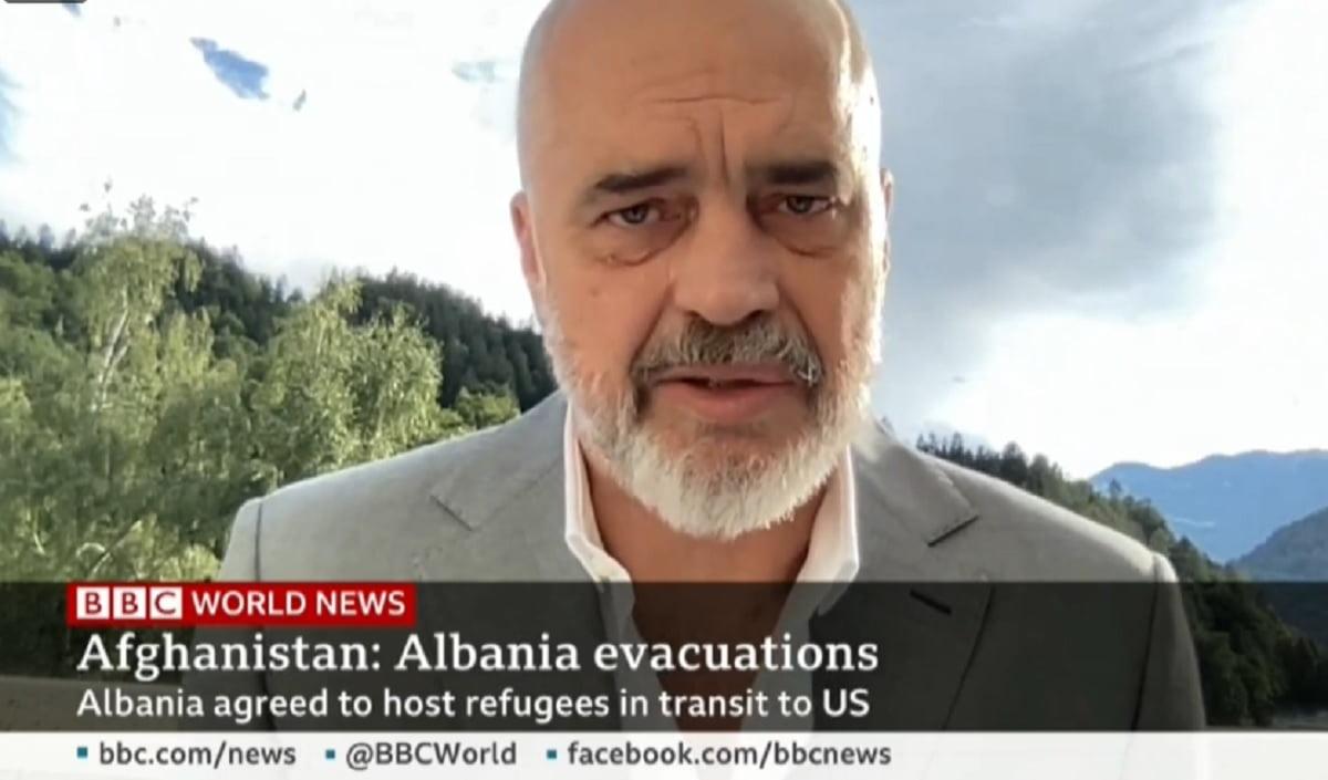 Afganët, Rama për BBC: Nuk jemi vend i pasur, por kemi bukë, kripë e zemër
